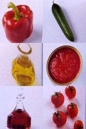 Гаспачо с помидорами. Жан-Франсуа Малле. Ингредиенты