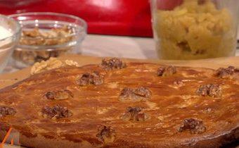 Французский разбитый ореховый пирог