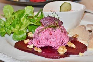 1. Закускаперекус. Салат из свеклы с рисом