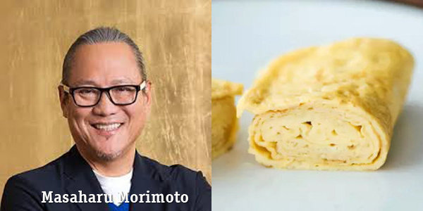 Масахару Моримото с его рецептом тамагояки