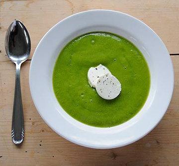 Суп с брокколи 3