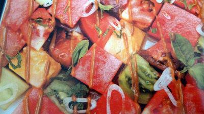 Салат + арбуз