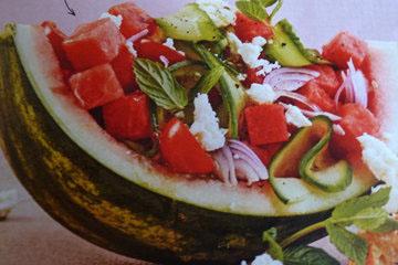 2. Салат с фетой