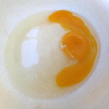 I.1. Яйца с сахаром взбить