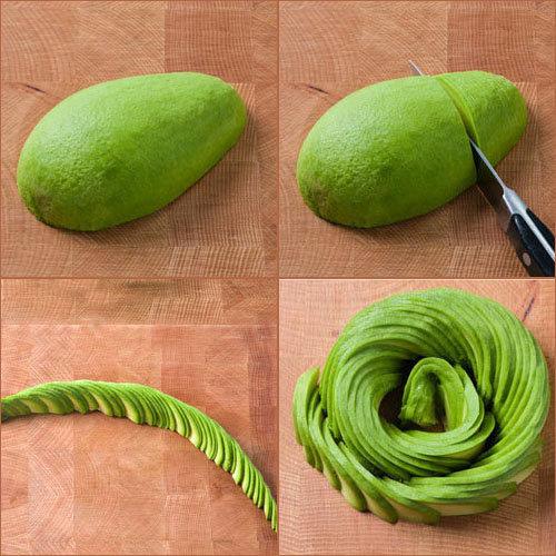 Нарезка авокадо 2