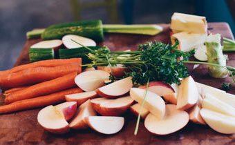 Нарезка фруктов. Нарезка овощей