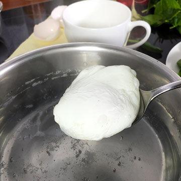 Пошированные яйца 3