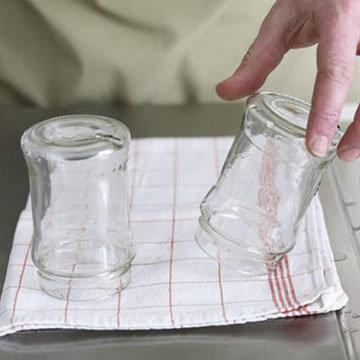 подготовить стерилизованную посуду