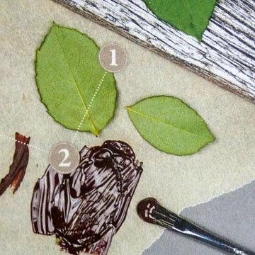 Кулинарный мастер класс Тарталетки с листочками 2