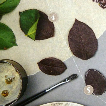 Кулинарный мастер класс Тарталетки с листочками 4