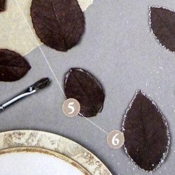Кулинарный мастер класс Тарталетки с листочками 5