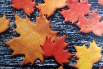 1. Печенье Кленовый лист