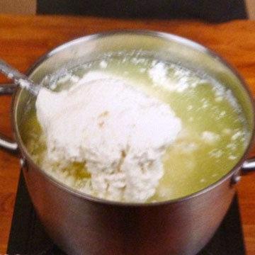 Как сделать сыр Burrata и Stracciatella. Шаг 8