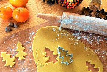 Печенье Елочка - как украсить