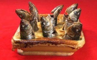 Пирог с рыбой рецепт Stargazy Pie