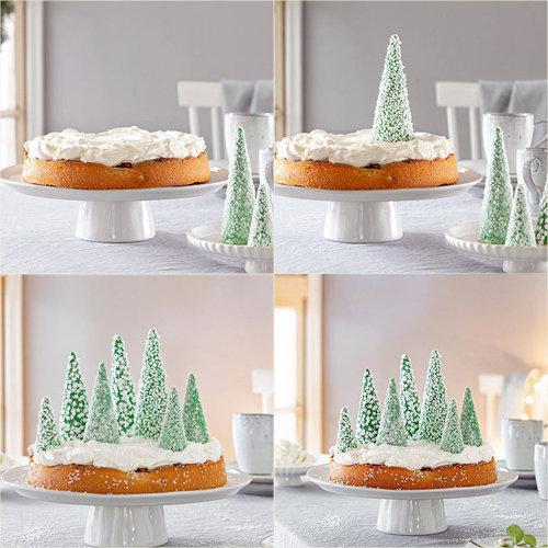Торт на Новый год Ели