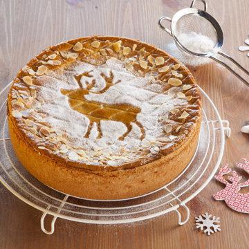 Торт с оленями