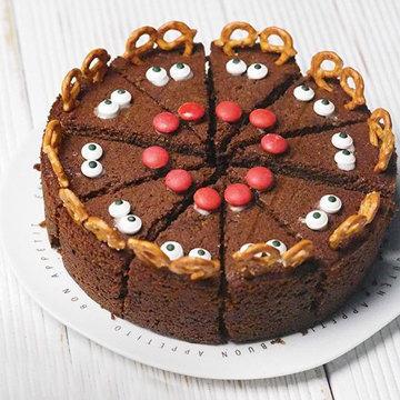 Украшение торта Рудольф