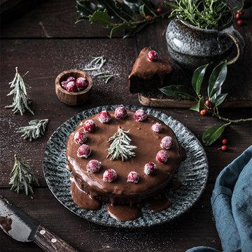 Шоколадный торт Когда часы 12 бьют!