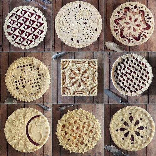 Как украсить пироги