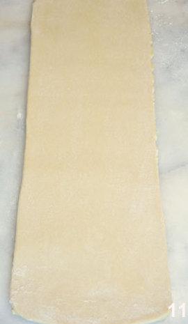 Мастер класс Перевернутое слоеное тесто для печенья Arlett 11