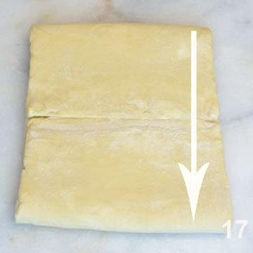 Мастер класс Перевернутое слоеное тесто для печенья Arlett 17