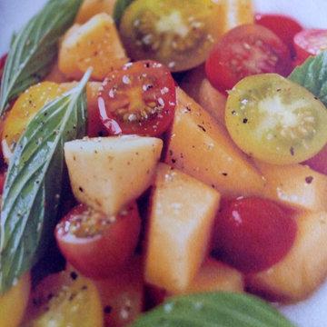 1. Салат с дыней