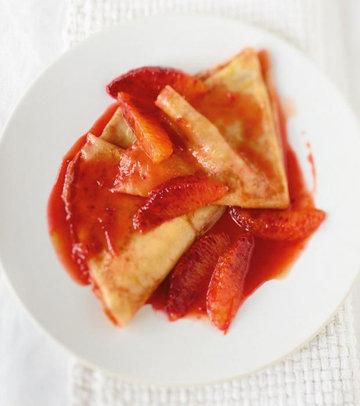 можно готовить с красными апельсинами или другими цитрусовыми