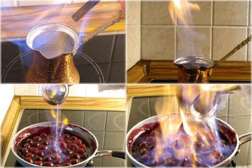 Flambé - огонь и пламя для аромата и вкуса