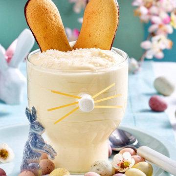 Пасхальный десерт Лимонный крем