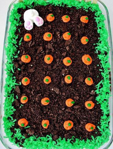 Пасхальный тортик без выпечки Oreo Dirt