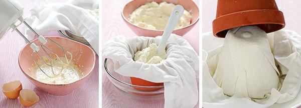 приготовить пасху в новых глиняных горшочках