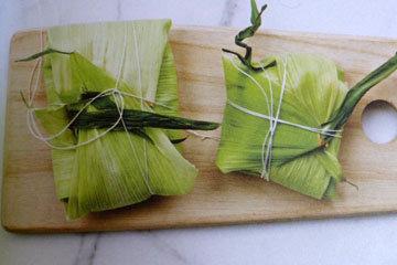 Букет гарни в кукурузных листьях 2