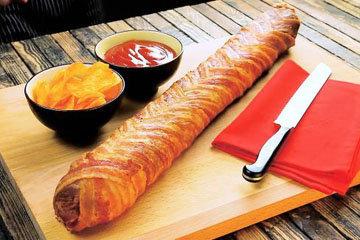 Бутерброд с колбасой 1