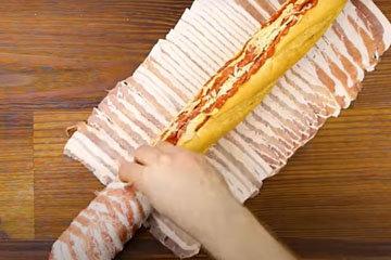 Бутерброд с колбасой 2