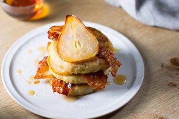 Как приготовить бутерброд в духовке с грушей 2
