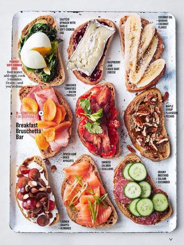 Рецепты бутербродов очень разные