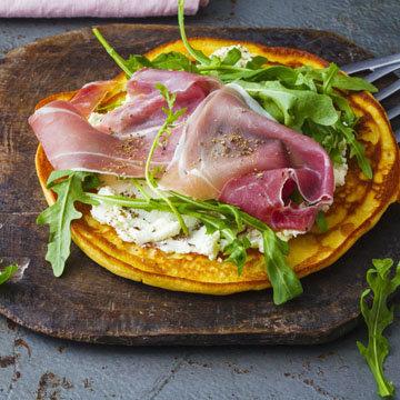 Рецепты при диабете на завтрак. Пикантные блины