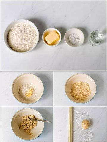 Традиционные пирожки с мясом и картошкой 1