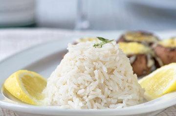 1. Лимонный рис