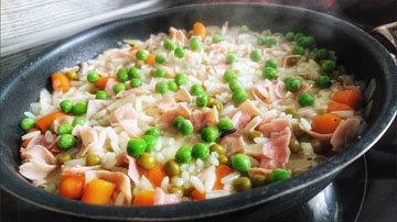 2. Как варить рис Риси Биси