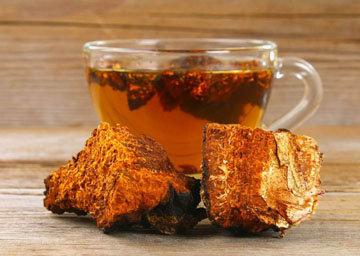 2. Чай из чаги
