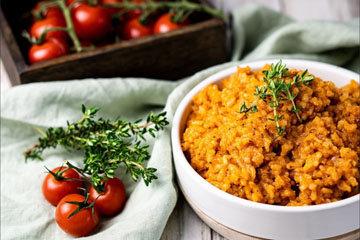 3. Томатный рис