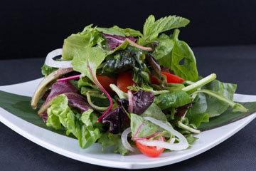 4. Зеленые листовые овощи