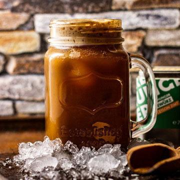 9. Рис- Айс-Кофе с корицей
