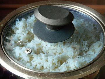 IV. Приготовление риса в кастрюле