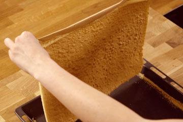 Как же перевернуть бисквитный бисквит 1