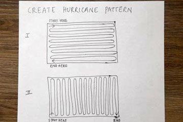 Как сделать правильно рисунок бисквитного рулета Ураган 5