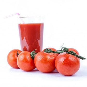 Мы любим пить томатный сок
