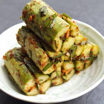 Рецепт соленых огурцов холодным способом аля Кимчи 1